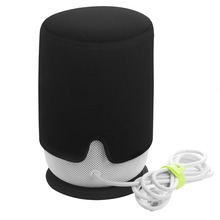 YEINDBOO Homepod Smart Speaker Bags Dust Cover Set Bluetooth Mini Speaker Cover + Mat Audio Special Package Black цены