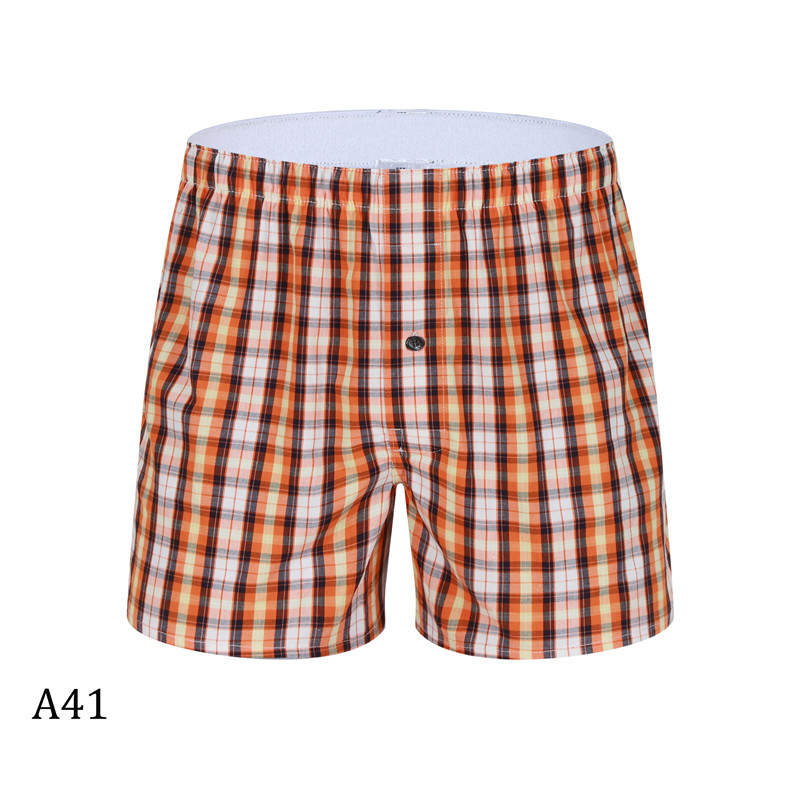 Komfortable los Boxer Plaid Unterhose 7 Cuecas Masculina Lose package2 Baumwolle Shorts package3 Männer Teile Package1 package4 Unterwäsche tYgwpq