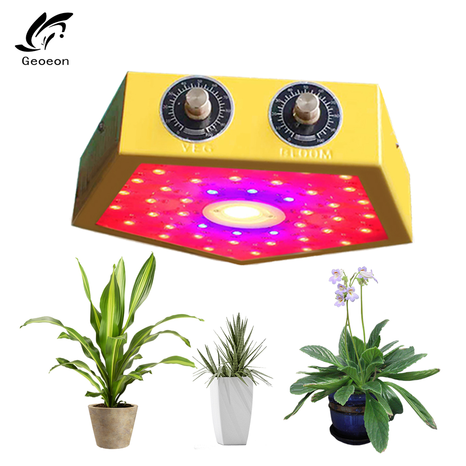Geoeon 2019 Nuovo 1000 W ha condotto la pianta che cresce lampada dimmable Dell'interno Idroponica Serra LED Impianto di Tutte Le Fasi coltiva la luce