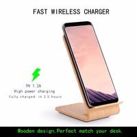 Fast Wireless Charger Itian Quick Wireless Charger For Samsung S8 S8 S7 S7 Edge Note5 S6