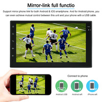 Universal Android 7.1 System GPS Navigation Radio System 7 Inch BT In dash Navigation Car Multimedia Player