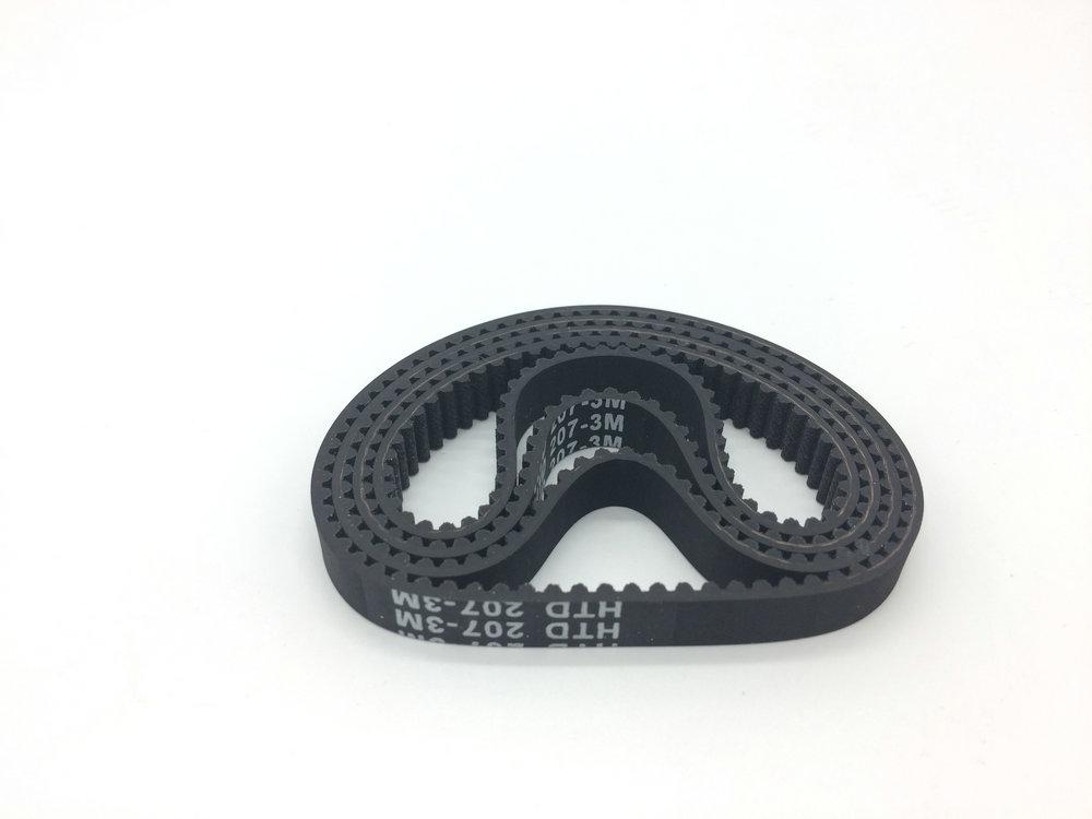 10 PCS Shredder Belt HTD3M207-9