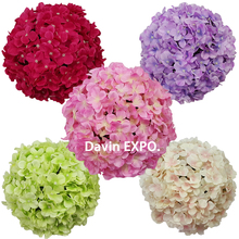 20cm Birthday Banquet Decor Wedding Decoration Hydrangea flower Ball Christmas Decor Home Ornament Party wedding kissing ball christmas tree decoration ball metal decoration home christmas ornament decoration christmas party party hanging ball ornament