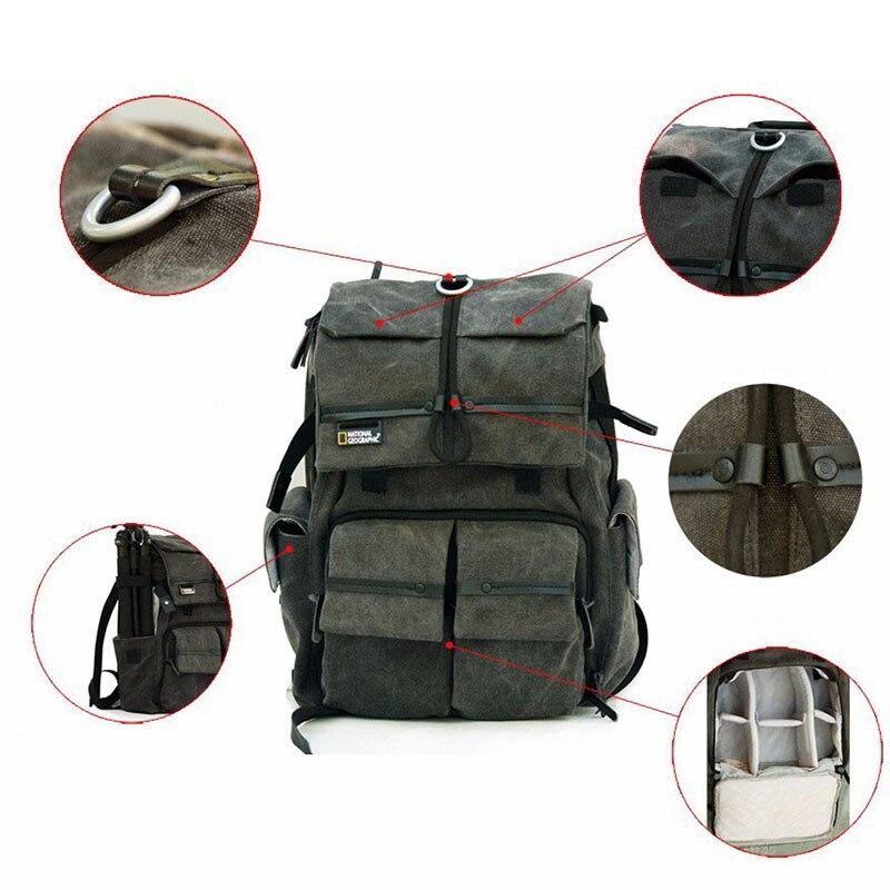 Camera Backpack National Geographic Walkabout NGW5070 Double Shoulder Bag DSLR Camera Rucksack Backpack Laptop Bag стоимость