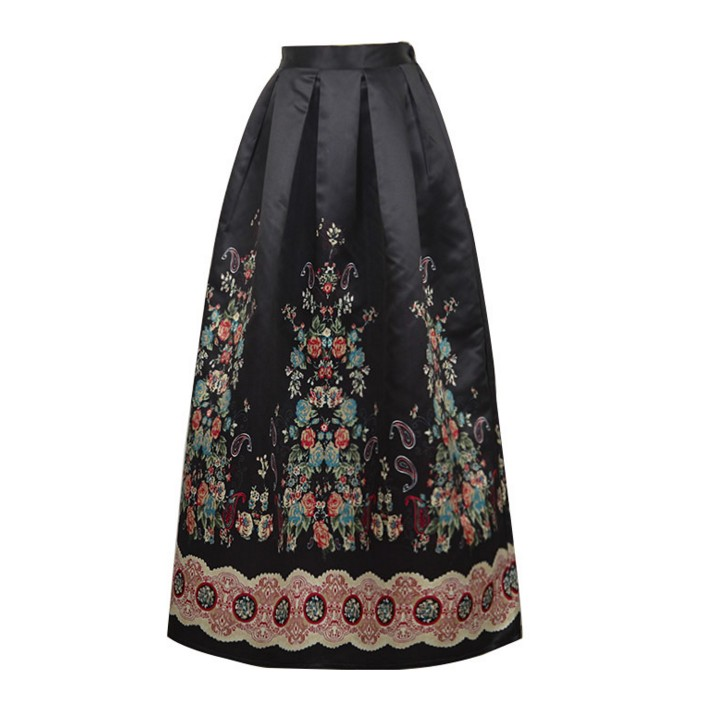 Compare Prices on Full Length High Waisted A Line Skirt- Online ...