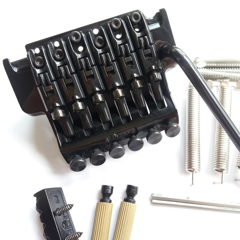 1 set Original véritable Edge III pont guitare électrique verrouillage trémolo système pont pour IBZ noir - 2