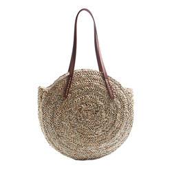 Для женщин в богемном стиле ветер пляж круг вокруг ротанга соломы Летние путешествия сумки на плечо