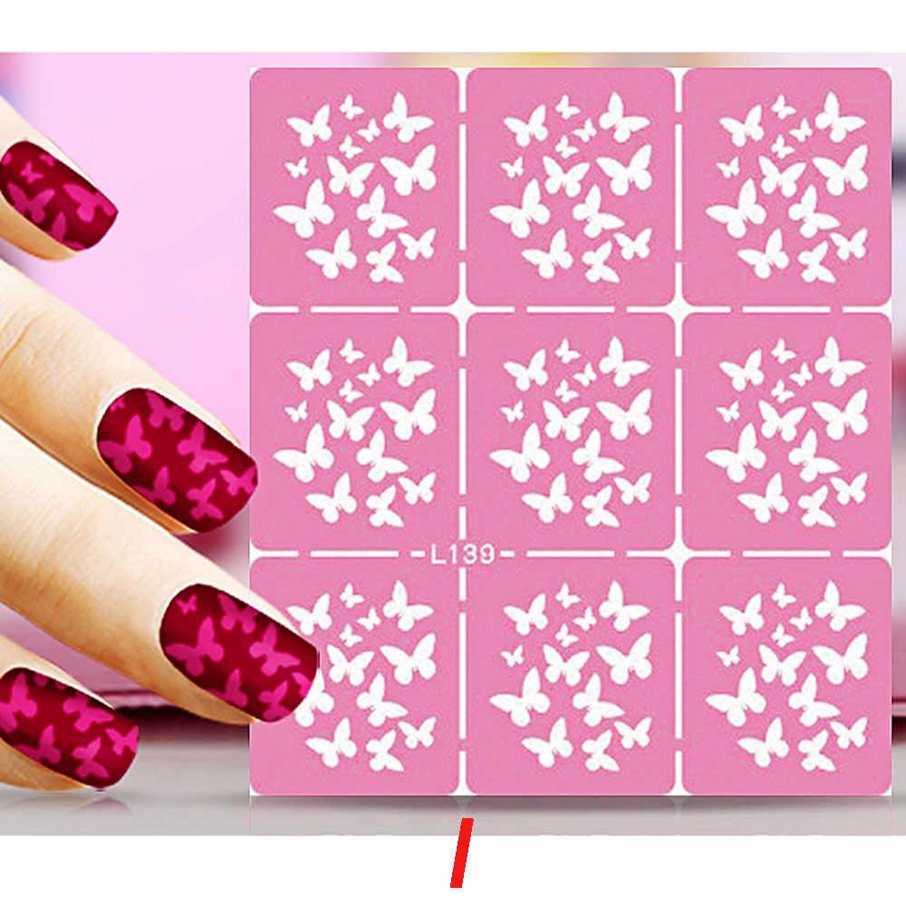 ROSALIND модные Diy модные пластины для штамповки ногтей Дизайн ногтей переводные наклейки маникюр Советы Наклейка DIY украшения инструмент