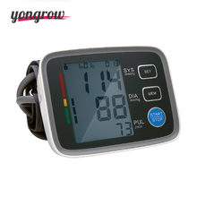 yongrow Arm Blood Pressure Monitor Sphygmomanometer Bloeddruk Tonometer Medidor De Presion Arterial Digital Blood Pressure