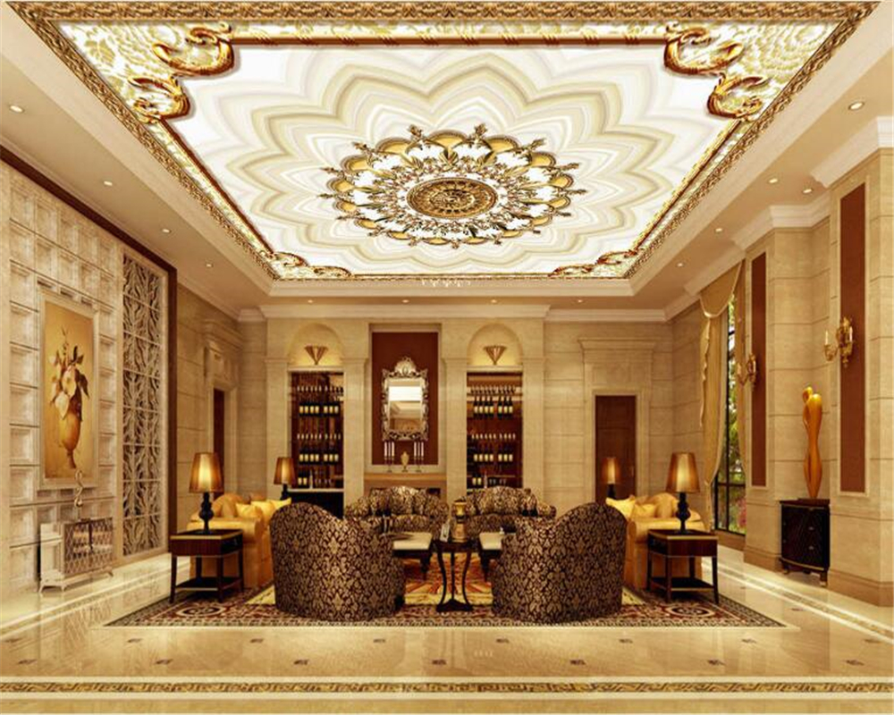 Beibehang european style custom personalized wallpaper for Wallpaper home renovation