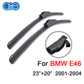 "Wiper Blade For BMW 3 Series E46 (2001-2004) 23""+20"" Pair Natural Rubber WindscreenWindshield Car Accessories"
