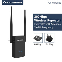 COMFAST CF-WR302S 300Mbps 2x5dBi WIFI antenna Wireless-N mini Wifi Router 2.4G wifi Repeater signal Amplifier Booster Repetidor