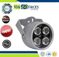 Ip-камера видеонаблюдения Камера для видеонаблюдения светодиодный S 4 ИК светодиодный свет ИК-водонепроницаемый Ночное видение CCTV заполняющ...