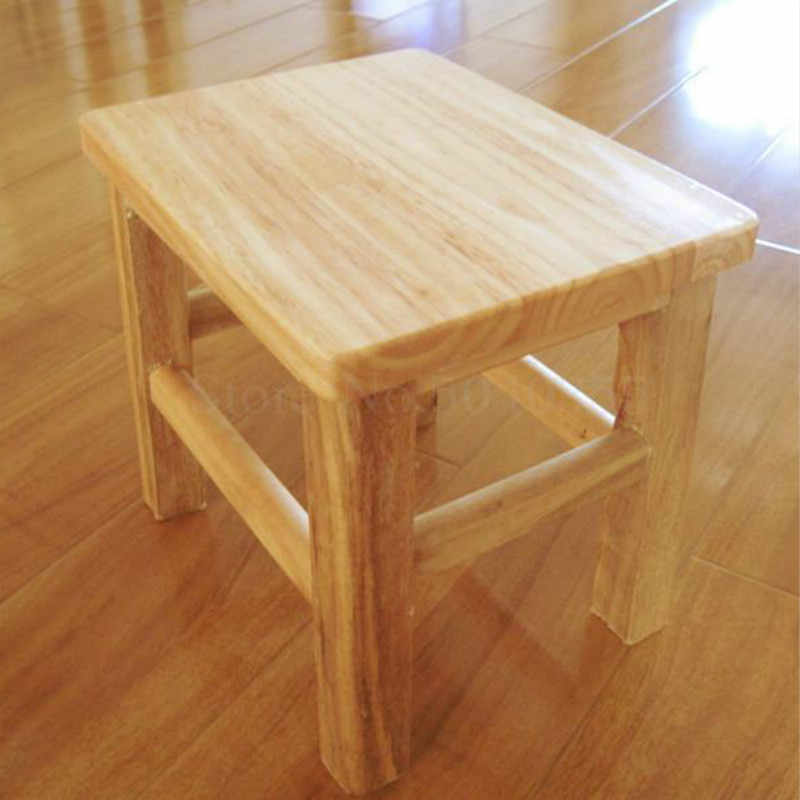 Enjoyable Anti Corrosion Fashion Creative Strip Solid Wood Stool Squirreltailoven Fun Painted Chair Ideas Images Squirreltailovenorg
