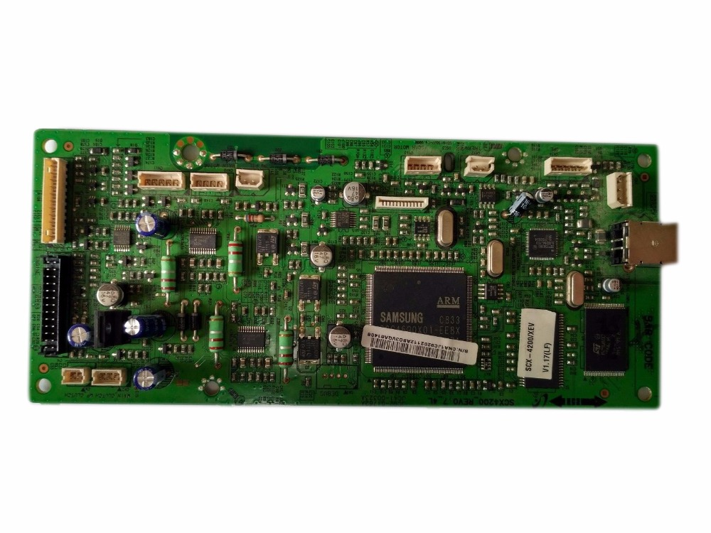 einkshop Used Formatter Board For Samsung SCX-4200 SCX 4200 SCX4200 JC92-02112A JC92-02112B JC92-02112C mainboard refill toner cartridge for samsung scx 4200 d4200a scx4200 scx 4200 scx d4200a exp eur reset chip printer toner cartridge parts