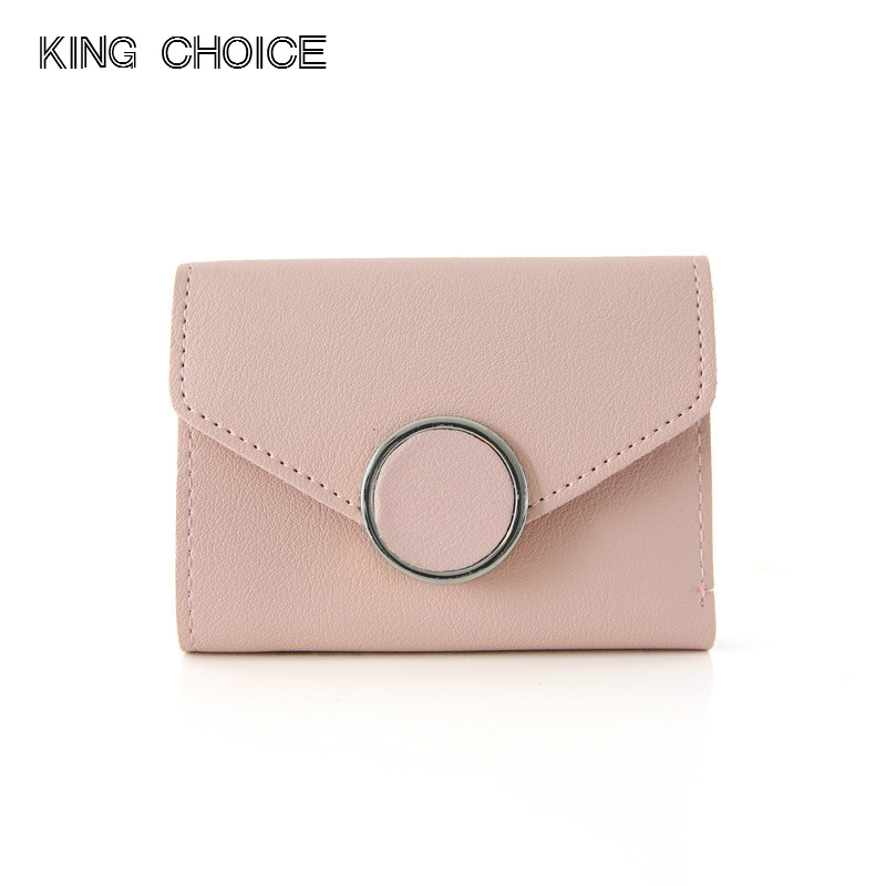 2018 Coin Purse Zipper Short Wallets Women Wallet Short Coins Purse Leather Hasp Female Cluthes Ladies Wallet Card Holder Mini 2016 new pu leather hasp ladies wallet female small short purse for women for coins credit card holder dollar price carteira