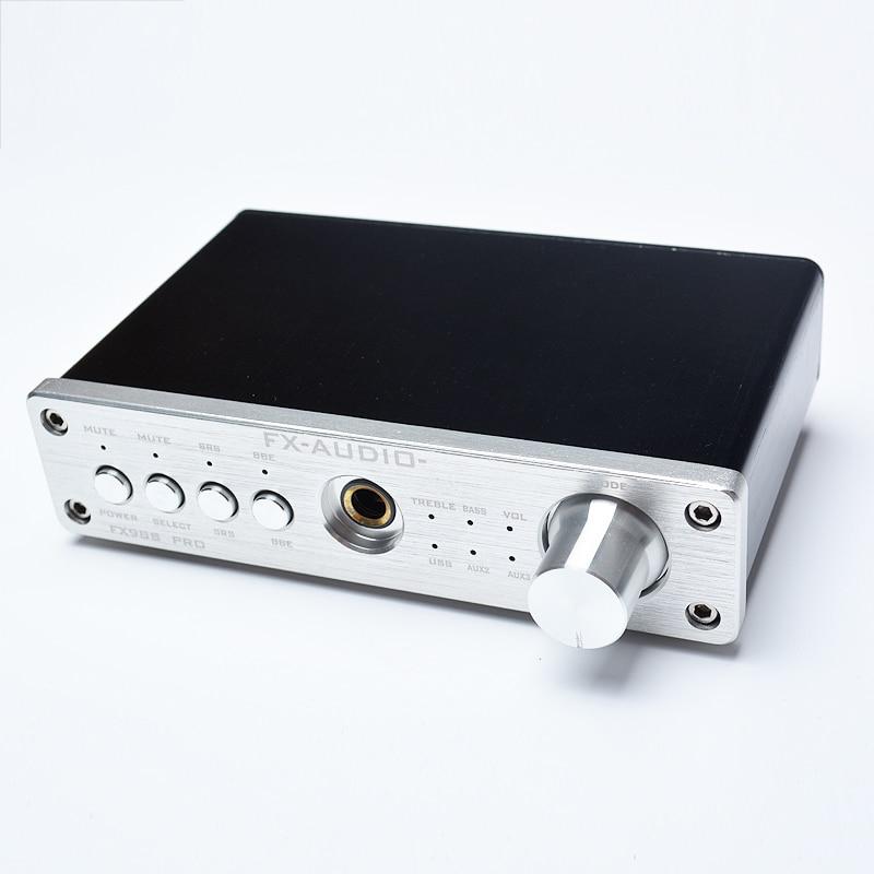2016 FX-Audio FX-98S sound effect EQ processor PRO upgraded version of the USB decoder DAC PCM2704 MAX9722+headphone amplifier