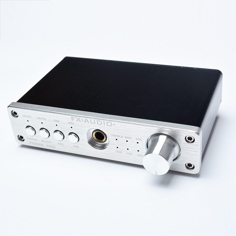 FX-Audio FX-98S Pro DAC PCM2704 MAX9722 Headphone Amplifier Upgraded Version USB Decoder Sound Effect EQ Processor Amplifier