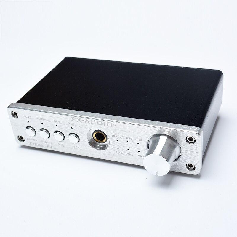 FX-Audio FX-98S Pro DAC PCM2704 MAX9722 Casque Amplificateur Version Améliorée USB Décodeur Effet Sonore EQ Processeur Amplificateur