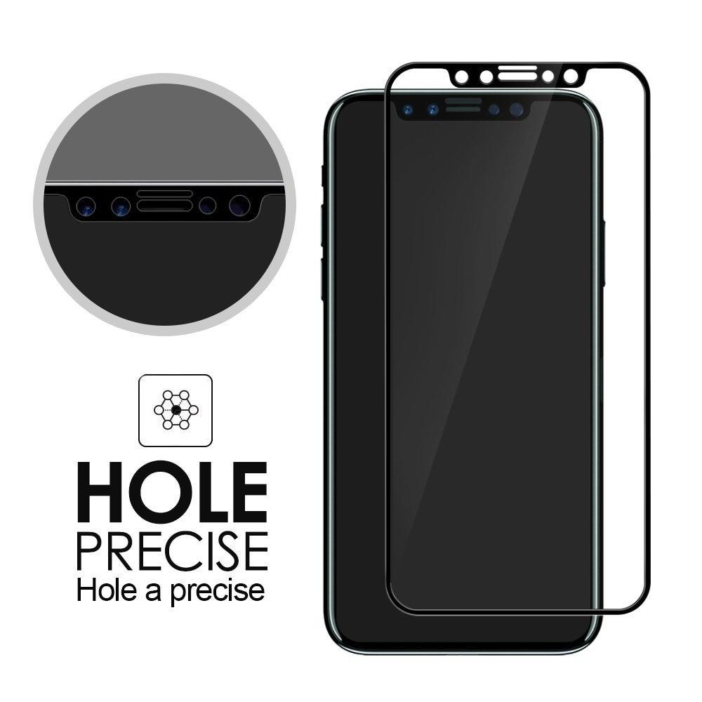 5d permukaan melengkung kaca tempered untuk apple iphone 7 8 x kaca - Aksesori dan suku cadang ponsel - Foto 2