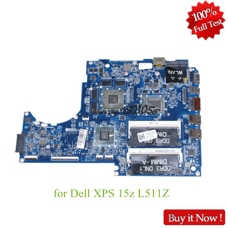 Nokotion CN-0CD50P CD50P For dell XPS 15Z L511Z DASS8BMBAE1 laptop motherboard i5-2450M HM67 GeForce GT525M цена