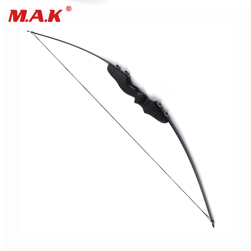 30/40 Lbs Straight Bow Length 50 Inches for Right Handed Archery Bow Shooting Hunting Game Outdoor Sports shooting straight