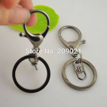 100Set Black Gun Plated Lobster Clasps Swivel Trigger Clips Snap Hooks Bag Key Ring Jewelry Making(China)