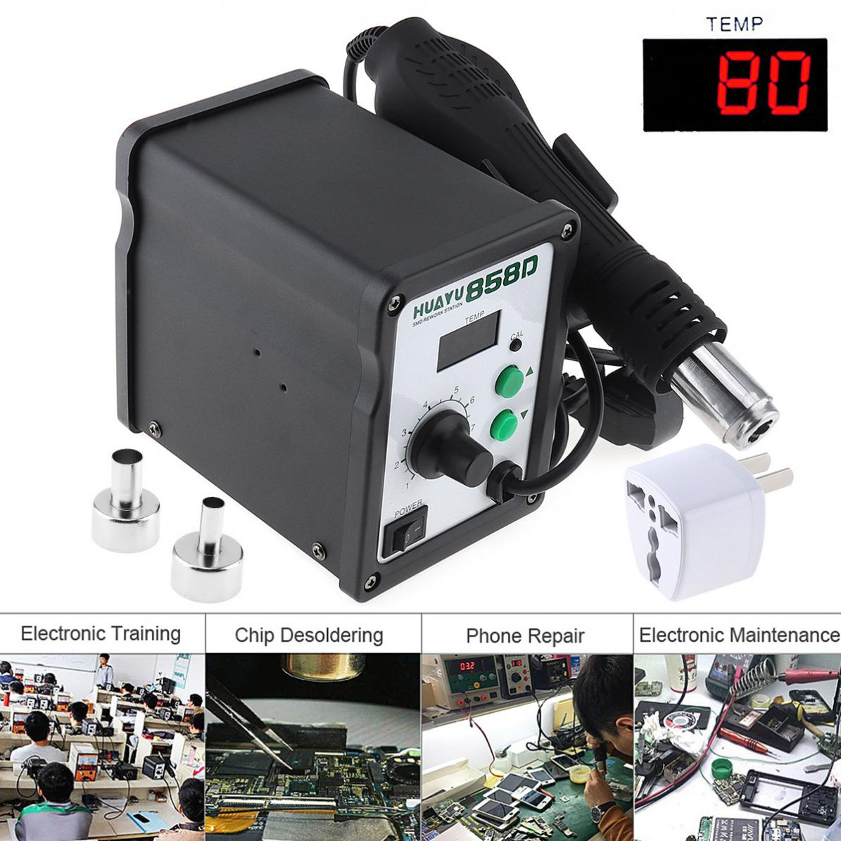 H858D Multifunction 110V LCD Digital Display Hot-Air Desoldering Station with Table Type and Helical Wind lp116wh2 m116nwr1 ltn116at02 n116bge lb1 b116xw03 v 0 n116bge l41 n116bge lb1 ltn116at04 claa116wa03a b116xw01slim lcd