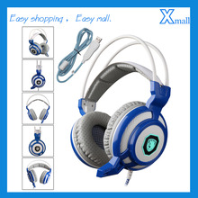 SADES-905 Professional Gaming Headphones Vibration 7.1 Surround Stereo USB Headphones With Microphone For PC Gamer