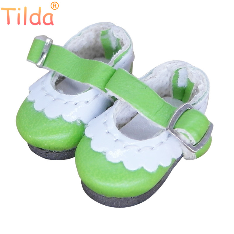 Tilda 2.5 cm Doll Shoes for Pukifee Lati Yellow Dolls Toy,1/8 for Blyth Azone Obitsu Licca BJD Shoes Accessories for Dolls Toy все цены