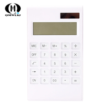 12 Digit Electronic Calculator Calculate Commercial Tool Solar Powered Office Finance Calculator For Office School Supplies key bench calculator 5500 calculator solar dual power metal surface office electronic calculators for financeira school