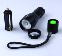 USA EU Hot E17 CREE XML T6 LED 3800LM Aluminum Zoomable Flashlights Torches Lamplight For 18650