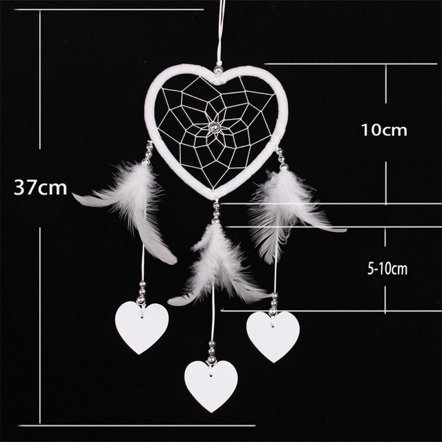 2016 Handmade Dream Catcher Circular Net With feather Hanging Decoration Decor Ornament Gift