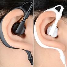 RUKZ 002 Sport Stereo Ohr Haken Kopfhörer für Fahrer Handy BASS Lauf Earbuds mit Mic DJ Kopfhörer HiFi REITER headset