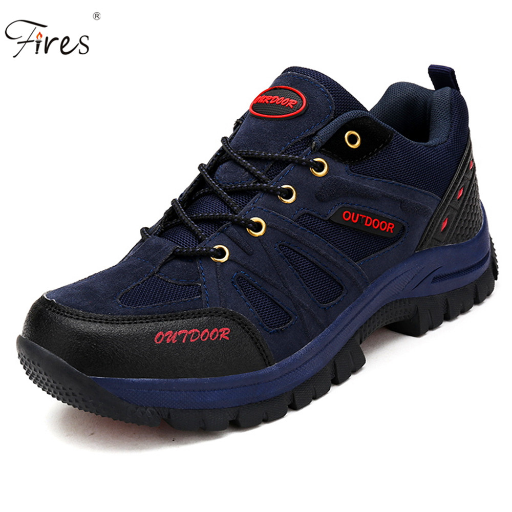 ФОТО Big Size hiking Shoes men Climbing Shoes Breathable hiking sneakers man sports Shoes Hunting athletic Shoes outdoor Sneakers