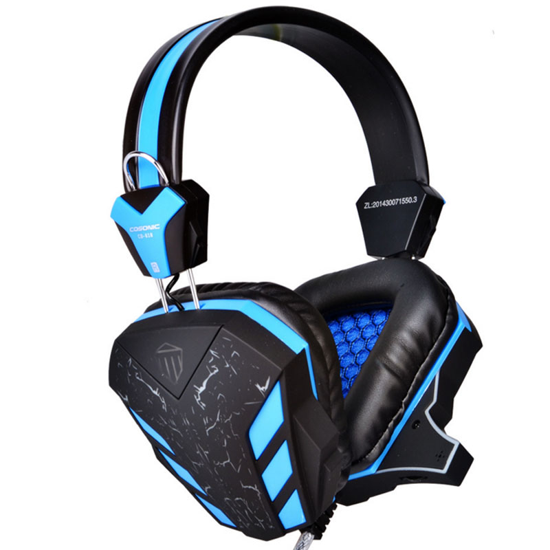 NDJU USB 3.5mm Bass Gaming Headphone LED Llight Stereo Xbox one Gamer player Headsets With Microphone for PC computer laptop led bass hd gaming headset mic stereo computer gamer over ear headband headphone noise cancelling with microphone for pc game