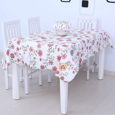 PVC Table Cloth Waterproof And Oil Proof Mat Tablecloth Custom In  Tablecloths From Home U0026 Garden On Aliexpress.com | Alibaba Group