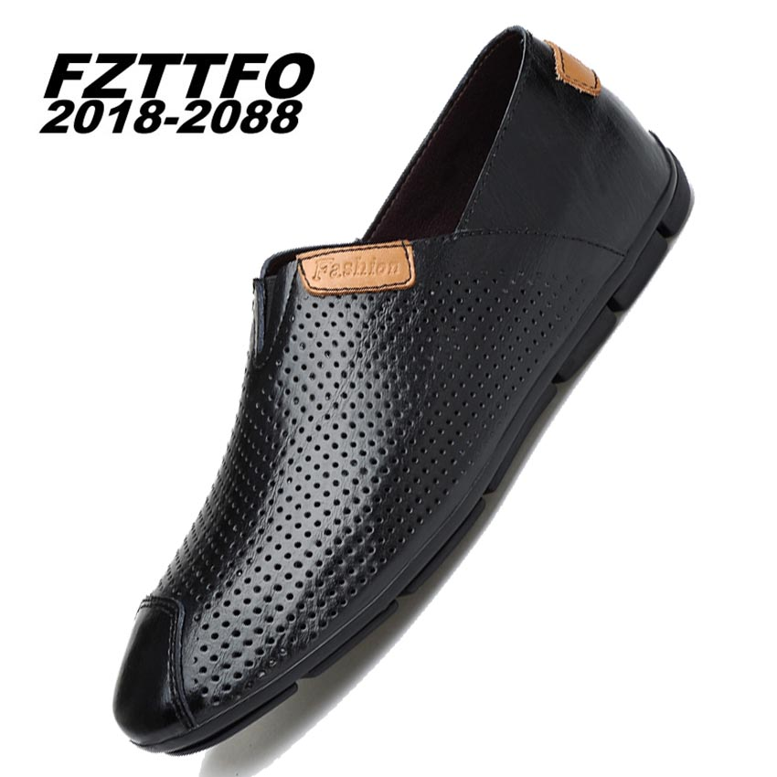 Size 36-47 Men's Genuine Suede Leather Driving Shoes,FZTTFO 2018-2088 Brand Casual Shoes,Brand Design Loafers For Men K484 top brand high quality genuine leather casual men shoes cow suede comfortable loafers soft breathable shoes men flats warm