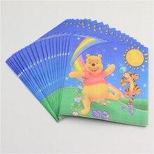 Winnie Pooh Style Napkins