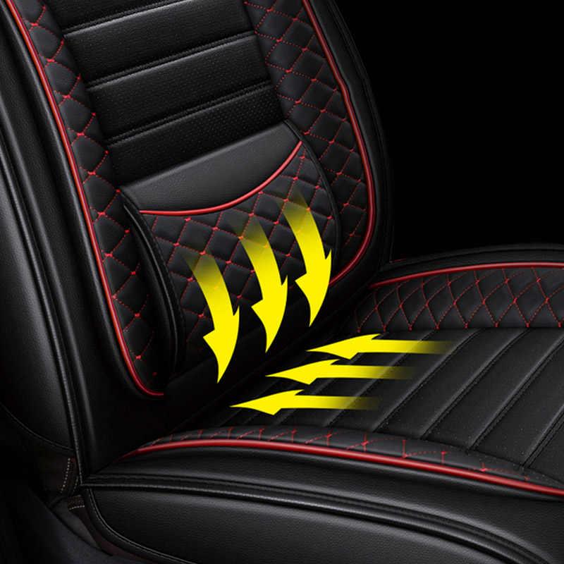 Housse de siège de voiture en cuir Tane pour renault captur duster logan fluence 2013 kadjar megane laguna accessoires housses de siège pour voitures