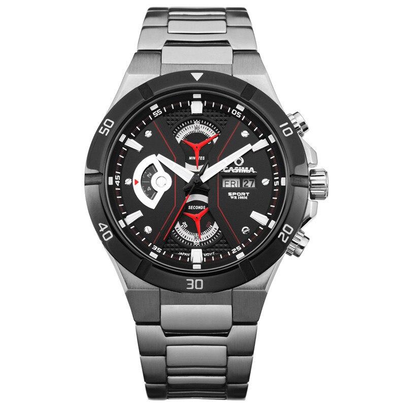 Fashion font b men s b font watch stainless steel font b quartz b font watch