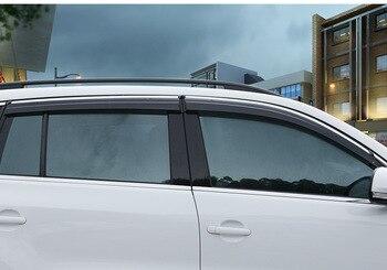 Regenschutz Für Autofenster | Für TOYOTA RAV-4 2010 Auto Windows Visier 4 PCS Hohe Qualität 3D Helle Bar Sonnenblende Sonnenschirm Regen Guards Schild Auto Formteile