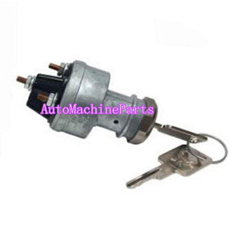 Interruttore di accensione Chiave per Bobcat Mini Pista Pale MT50 MT52 MT55Interruttore di accensione Chiave per Bobcat Mini Pista Pale MT50 MT52 MT55