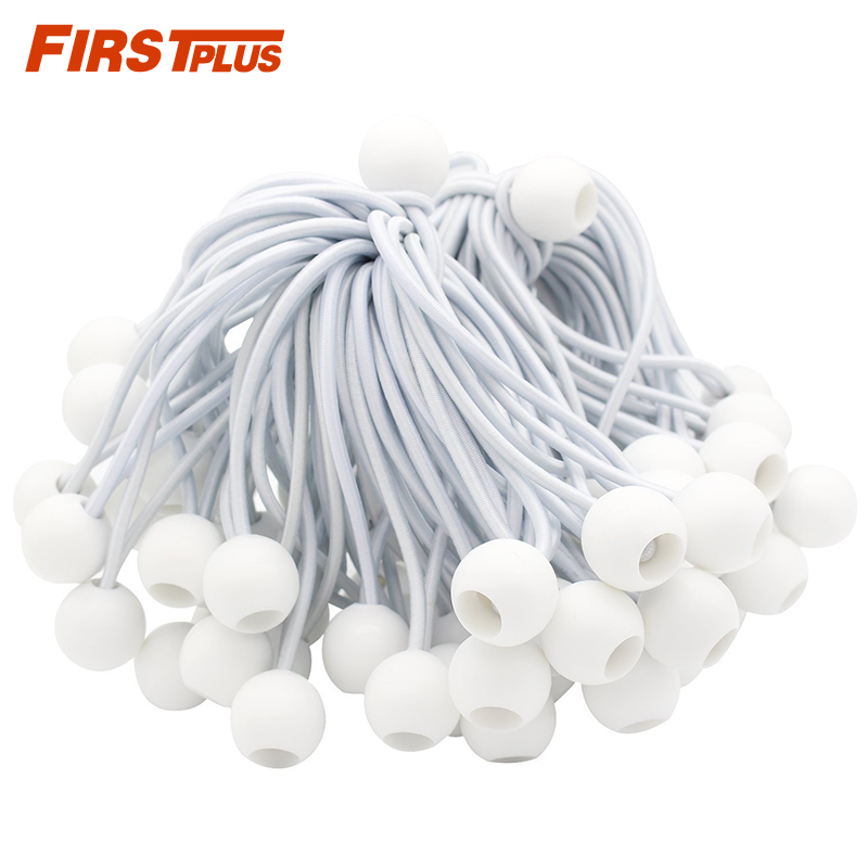 20 x 35cm 6 inch Ball Bungee Cord Tie Down Lashing Strap Elastic Binding Tape Luggage Rubber Rope bondage Ropes Car Organizer