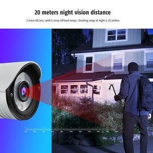 Image 3 - Wanscam k22 무선 와이파이 모션 감지 알람 ip66 방수 트리플 디지털 줌 적외선 야간 감시 카메라