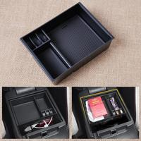 New Black Inner Control Armrest Storage Secondary Glove Box Organized Container For Mazda 6 Atenza 2013