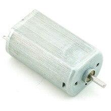 Сильный магнитный режим 180 мотор Высокоскоростной высокоскоростной миниатюрный двигатель постоянного тока 7,2 в 17000 об/мин