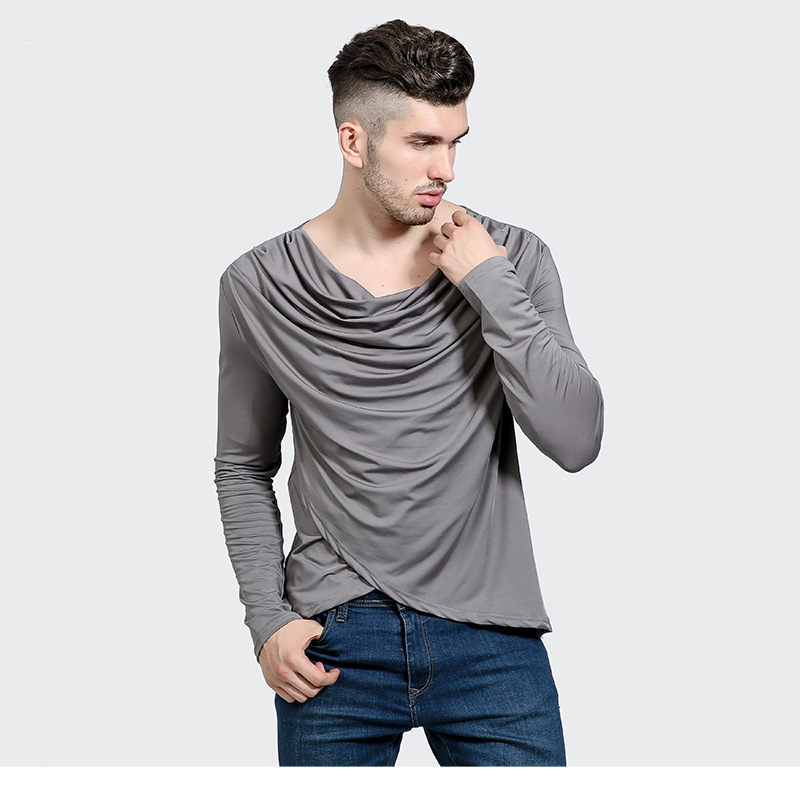 Unique And Fashionable Long Men: Irregular Cross Swag T Shirt Promotion Brand New Men
