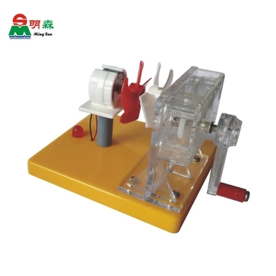 Wind power testing equipment Manual wind power generation transformation of energy free shipping - title=