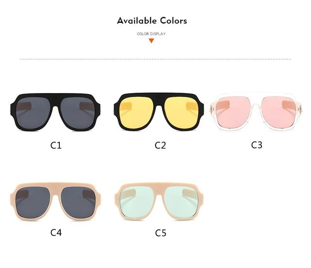 Luxury Brand Design Sunglasses Women Retro Sun Glasses For Women Men Fashion Sunglasses UV400 High Quality Gafas Oculos 4